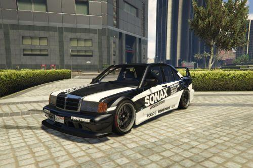 Mercedes-Benz 190E 2.5-16 Evolution II Livery Sonax
