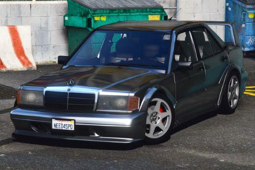 Mercedes-Benz 190E 2.5-16 Evolution II [Add-On | LODs | Extras | Template]