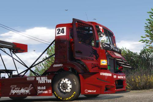 MERCEDES-BENZ #24 TANKPOOL RACING TRUCK 2015 [ADDON | ANIMATED]