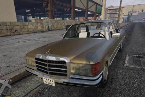 1974 Mercedes-Benz 280SE W116 [Add-On / Replace]