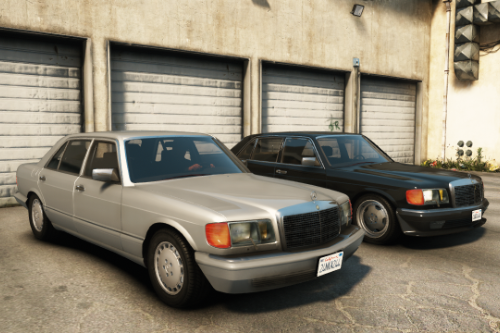 Mercedes Benz 560SEL (w126) US-spec [Add-On / Replace | Animations | Tuning | LODS]