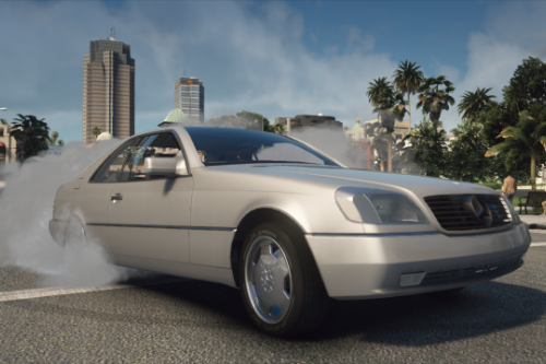Mercedes-Benz 600SEC [Replace | Animations | LODs]