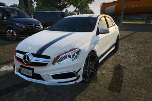 2012 Mercedes-Benz A45 ///AMG |Templated| Digital Dials|Livery [Add-On]