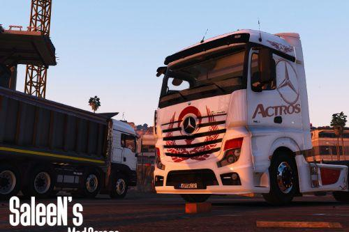 Mercedes-Benz Actros MP4 4x2 [Add-On / Replace]