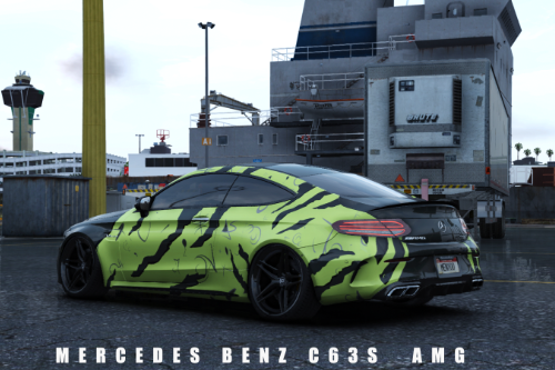 Mercedes Benz AMG C 63 S Livery