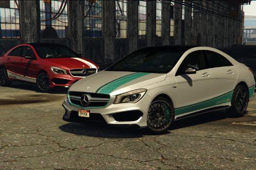 Mercedes-Benz AMG CLA45 Coupè (Livery)
