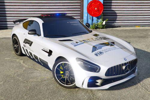 [Mercedes-Benz AMG GT R 2017]FIA F1 Safety Car livery