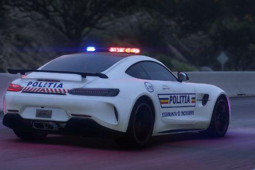 Mercedes-Benz AMG GT R 2017 Politia Romana