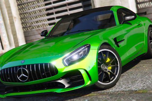 Mercedes-Benz AMG GT R 2017 [Add-On / Replace | Template]