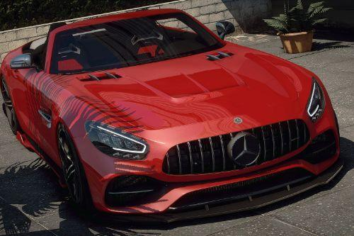 Mercedes-Benz AMG GT/R/C Roadster [Add-On | Extras | Wheels | Tuning | LODs]