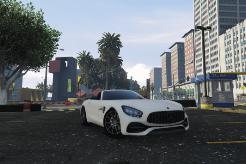 Handling for  CyberdyneSystems' Mercedes-Benz AMG GT Roadster