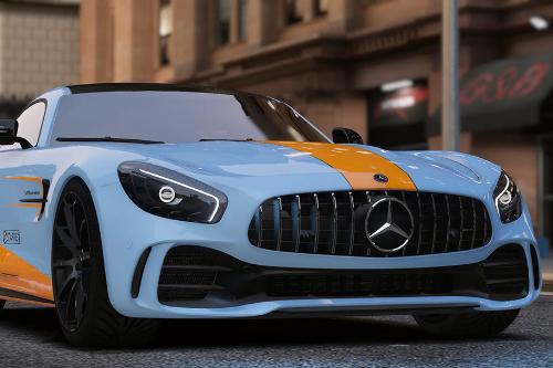 Mercedes-Benz AMG GT R---GUIF【4K】