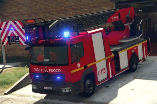 Mercedes-Benz Atego Autoscala - Vigili del fuoco - Reskin [ELS]