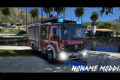 Mercedes Benz Atego HLF 20 Berufsfeuerwehr Darmstadt [Paintjob]