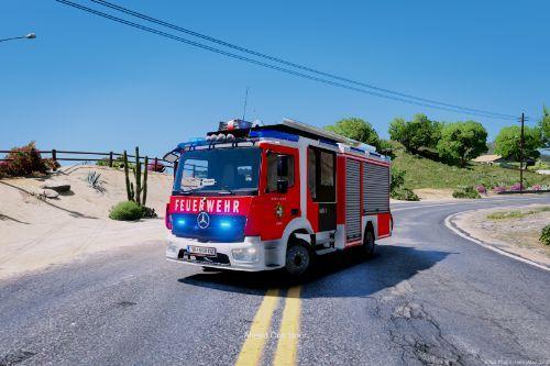 Mercedes Benz Atego - HLF // Feuerwehr Österreich // Skin