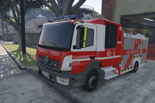 Mercedes-Benz Atego livery - Feuerwehr Trier with (blue lights) [Paintjob]