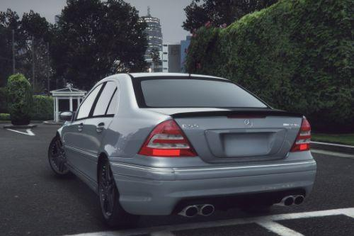 Mercedes-Benz C55 AMG W203  [Add-On / Replace]