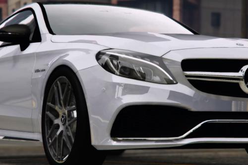 Mercedes benz C63 S AMG 2020 [Add-On | FiveM | Template ]