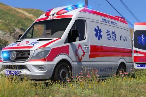 Mercedes-Benz Chinese Ambulance