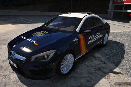 Mercedes-Benz CLA 45 AMG Policia Nacional/CNP of Spain/España[FiveM-Replace-ELS]