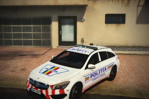 Mercedes-Benz CLA 45 Politia Romana