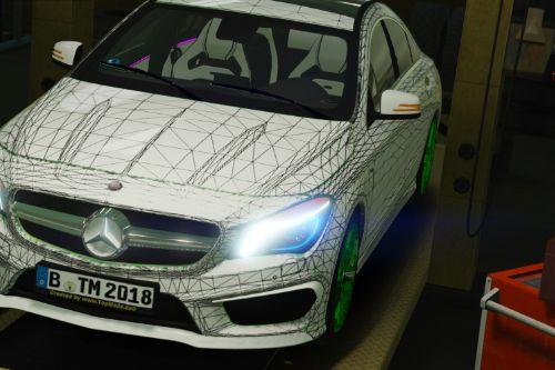 Mercedes-Benz CLA AMG & TM Template Edition