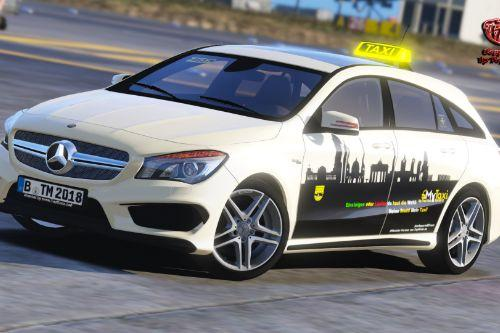 Mercedes Benz CLA Touring Germany Taxi + Taxilight Script