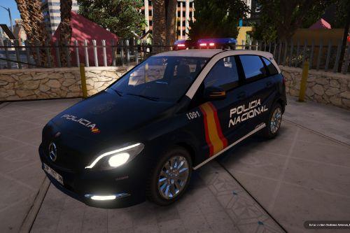 Mercedes-Benz Clase B Policia Nacional/CNP of Spain/España[FiveM-Replace-ELS]