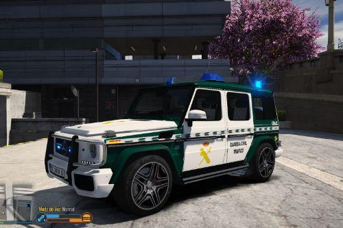 Mercedes-Benz Clase G Guardia Civil Trafico [FiveM-Replace-ELS]