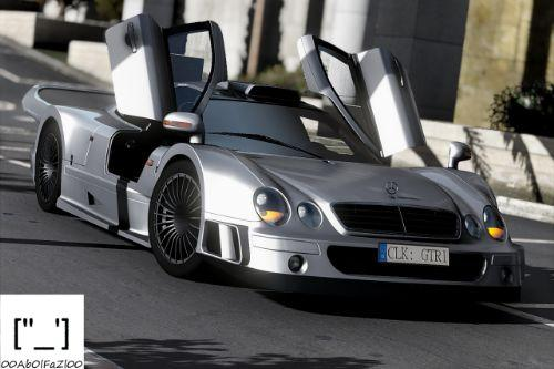 Mercedes-Benz CLK GTR 1998 [Add-On | Template | Extras]