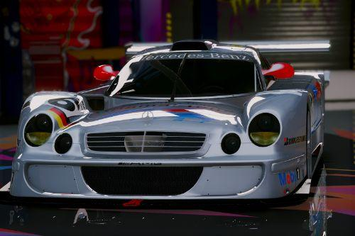 Mercedes-Benz CLK-LM AMG [Add-On]