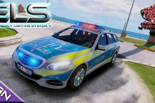 Mercedes-Benz E-Klasse 2015 Polizei (Autobahnpol. bawü) [ELS]