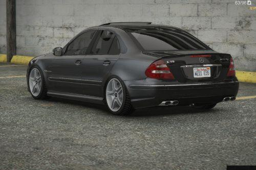 Mercedes-Benz E55 AMG (W211) [Add-On / Replace / FiveM | Tuning | Sound]