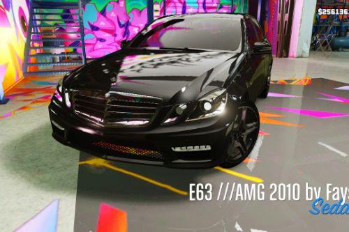 Mercedes-Benz E63 ///AMG 2010 |Animated|