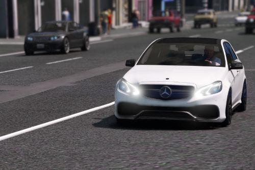 Mercedes-Benz E63 AMG Unlocked