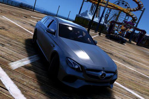 Mercedes-Benz E63 AMG Wagon [Add-On / Replace]