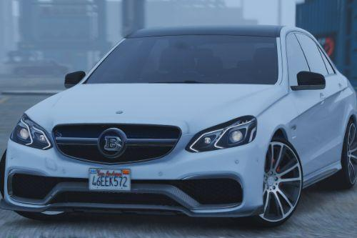 Mercedes-Benz E63 Brabus [Add-On / Replace]
