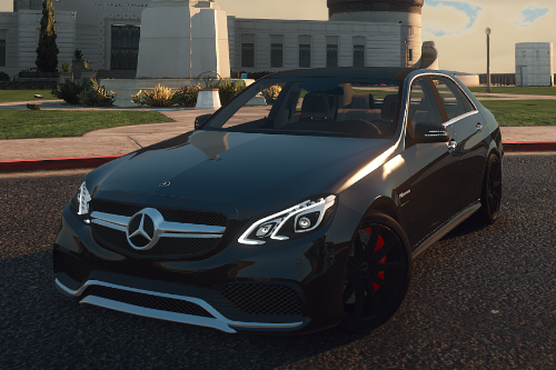 Mercedes-Benz E63 S AMG [Add-On | LODs | Tuning | Sound | Template]