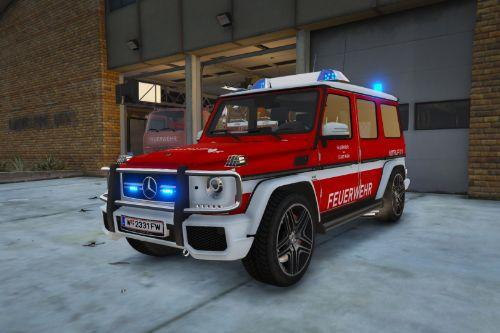 Mercedes-Benz G-Klasse ELW Feuerwehr Wien Paintjob