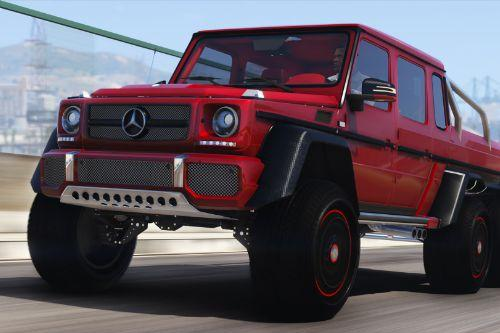 Mercedes-Benz G63 AMG 6x6 [Add-On | Tuning | Template]