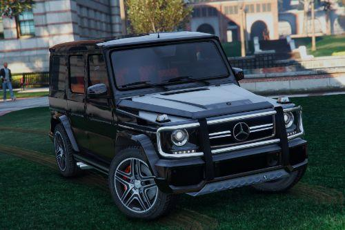 Mercedes-Benz G65 AMG [Add-On / Replace]