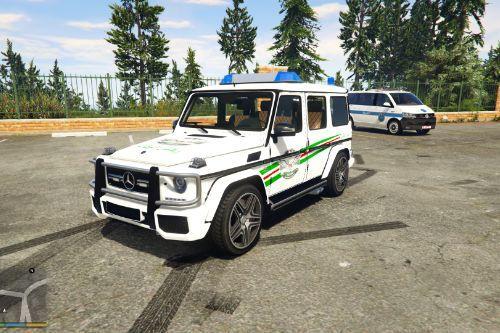 Mercedes-Benz G65 | palestine Police |  الامن الوقائي