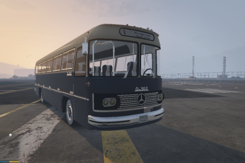 Mercedes Benz O362 Bus [Add-On / Replace]