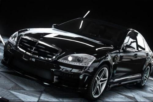 Mercedes Benz S-Class w221 Black Bison Edition 2009 [Add-On / Unlocked]
