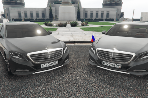 Mercedes-Benz S500 Skylight Edition || Government car | Paintjob