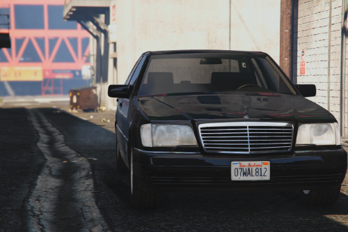Mercedes-Benz S600 (W140) [Add-On / Replace]