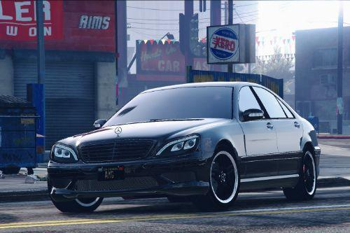 Mercedes-Benz S600 w220 (tunable AMG pack) [add-on]