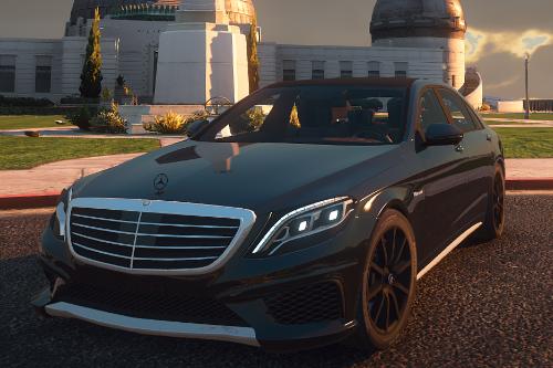 Mercedes-Benz S63 AMG W222 [Add-on | LOD's | Tuning | Sound]