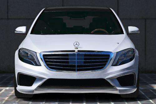 Handling for Mercedes-Benz S63 AMG