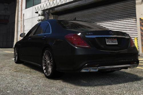 Mercedes Benz S65 AMG W222 Sound Mod